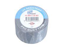 Duct Tape Black UV resistant 48mm x 30Mt