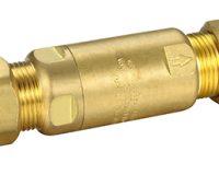 Pressure Limiting Valve 15mm x 600 KPA Copper Compression